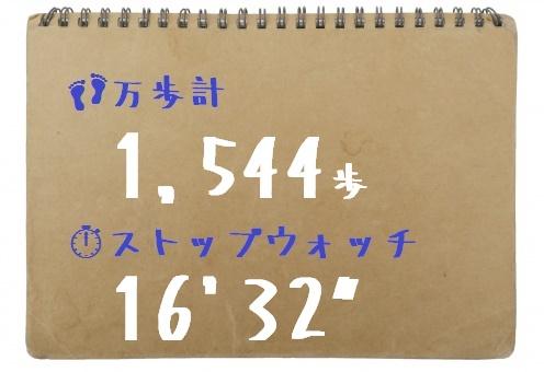 スケッチブック台紙 万歩計+SW 高女